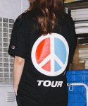 BONZ PEACE S/S T-SHIRT (BLACK)