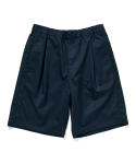 라이풀() SIDE TAPED HALF SLACKS navy