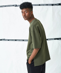17 POLY SEMI OVER FIT T-SHIRT(KHAKI)