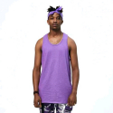 플라잉 나인티(FLYING NINETY) FNTY Basic Color Tank PURPLE