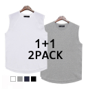 로맨틱 파이어리츠(ROMANTICPIRATES) [무신사 단독 2PACK] 17 RAGLAN SLEEVELESS(4COLOR)