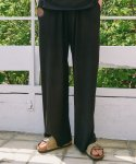 UNISEX WIDE PANTS BLACK