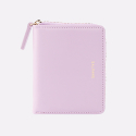Dijon 301 Layer ZIpper Wallet lilac blossom