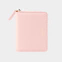 Dijon 301 Layer ZIpper Wallet peach pink