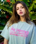 아임낫어휴먼비잉(I AM NOT A HUMAN BEING) HBXPP Pink Panther Mixed Basic Logo 2 T-Shirt - Grey