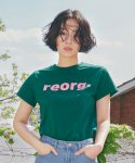 PRINTING WOMAN T-SHIRTS GREEN