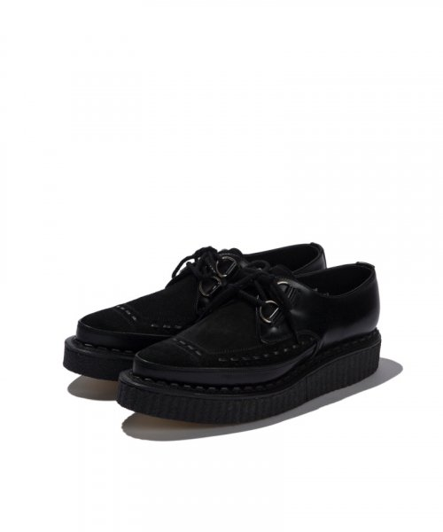 [2차 재입고] GEORGE COX / GIBSON D RING CREEPER / BLACK