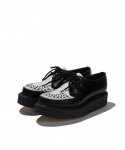 GEORGE COX / GIBSON D RING CREEPER / WHITE BLACK