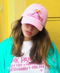 아임낫어휴먼비잉(I AM NOT A HUMAN BEING) HBXPP Pink Panther Face Ball Cap - Pink
