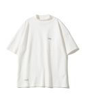 제로() Oversize Mock Neck T-Shirts (White)