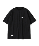 제로() Oversize Mock Neck T-Shirts (Black)