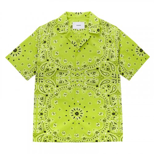 비바스튜디오(VIVASTUDIO) PAISLEY SHIRTS [GREEN]