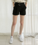 매치글로브(MATCHGLOBE) MG7S CIRCLE POINT SHORTS (BLACK)