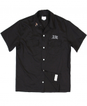 아웃스탠딩(OUTSTANDING) BILL BOWLER SHIRTS[BLACK]
