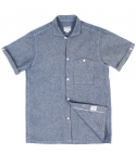 아웃스탠딩(OUTSTANDING) SAILOR CHAMBRAY SELVEDGE SHIRTS[INDIGO]