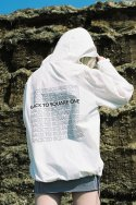 척(CHUCK) BACK TO SQUARE ONE ANORAK - WHITE