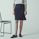 메종드이네스(MAISONDEINES) UNBLANCE PUNCHING SKIRT