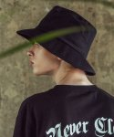 어반스터프(URBANSTOFF) USF OVER BUCKET HAT BLACK