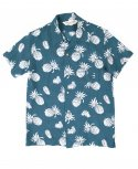 아웃스탠딩(OUTSTANDING) 50S TROPICAL SHIRT[EMERALD BLUE]