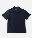 커버낫() S/S FATIGUE SHIRTS NAVY