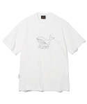 유니폼브릿지(UNIFORM BRIDGE) whale point tee off white