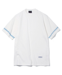 유니폼브릿지(UNIFORM BRIDGE) chimayo diamod needle point tee off white