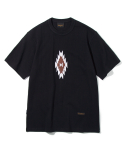 유니폼브릿지(UNIFORM BRIDGE) chimayo needle point tee black