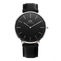 DW00100133 Classic Black Sheffield 40mm