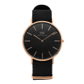 다니엘 웰링턴(DANIEL WELLINGTON) DW00100148 Classic Black Cornwall 40mm