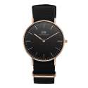 다니엘 웰링턴(DANIEL WELLINGTON) DW00100150 Classic Black Cornwall 36mm