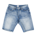 아웃스탠딩(OUTSTANDING) LOT1101S SELVEDGE SHORTS[WASHED INDIGO]