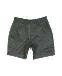 아웃스탠딩(OUTSTANDING) MILITARY OFFICER CHINO SHORT PANTS[KHAKI]