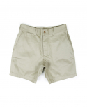 아웃스탠딩(OUTSTANDING) MILITARY OFFICER CHINO SHORT PANTS[BEIGE]