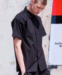 로얄위(THE ROYAL 'WE) OVERSIZED SHIRTS BLACK