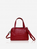 시그마픽시(SIGMAPIXI) Grace series_mini tote bag(crocodile_red)