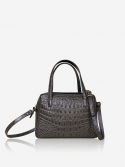 시그마픽시(SIGMAPIXI) Grace series_mini tote bag(crocodile_gray)