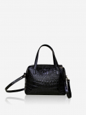 시그마픽시(SIGMAPIXI) Grace series_mini tote bag(crocodile_black)