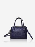 시그마픽시(SIGMAPIXI) Grace series_mini tote bag(crocodile_navy)