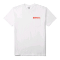 허프(HUF) HUF ANGER POCKET TEE WHITE