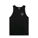 허프(HUF) HUF CHECKERED TANK BLACK
