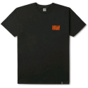 허프(HUF) HUF SHOW NO MERCY TEE BLACK