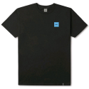 허프(HUF) HUF STRANGERS BOX FILL TEE BLACK