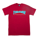 쓰레셔(THRASHER) THRASHER OUTLINED (CARDINAL)