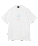 유니폼브릿지(UNIFORM BRIDGE) silent hawaiian tee off white