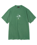 유니폼브릿지(UNIFORM BRIDGE) silent hawaiian tee green
