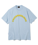 유니폼브릿지(UNIFORM BRIDGE) arch logo tee sky blue