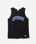 커버낫(COVERNAT) ARCHLOGO SLEEVELESS TOP BLACK