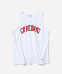 커버낫(COVERNAT) ARCHLOGO SLEEVELESS TOP WHITE