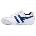 Harrier Leather CMA198WX  White/Ocean Blue