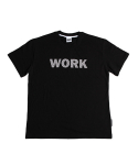 그라스하퍼(GRASSHOPPER) NO WORK T-SHIRT_BLACK